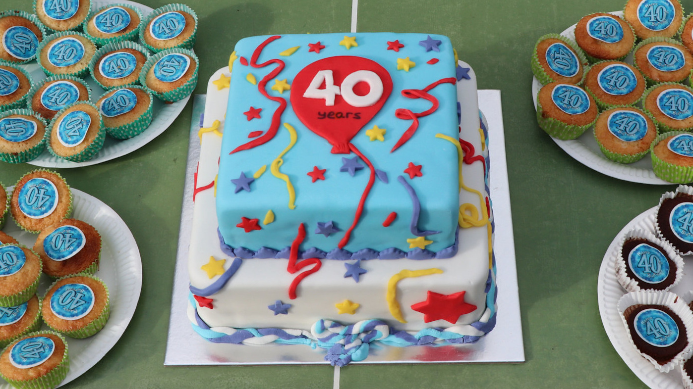40th birthday cake2