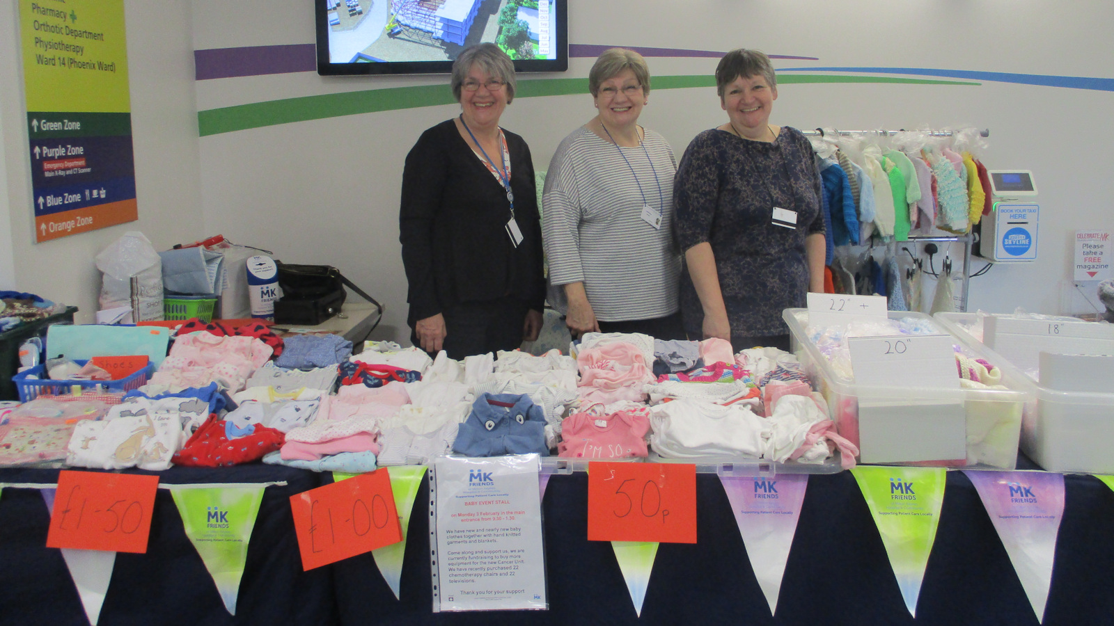 baby event stall